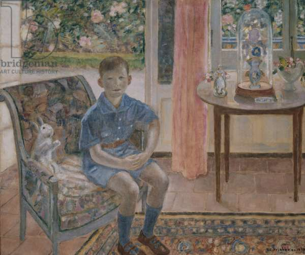 Youth, 1926 (oil on canvas)