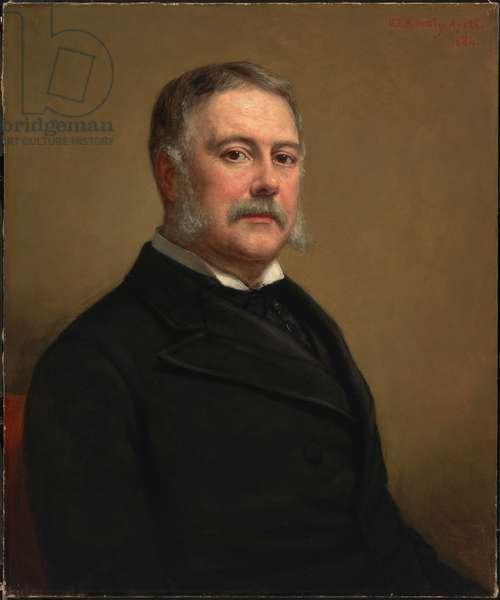 Chester Alan Arthur (1829- 1886), 1884 (oil on canvas)