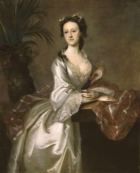 Portrait of Mrs. John Pigott, c.1752 (oil on canvas)
