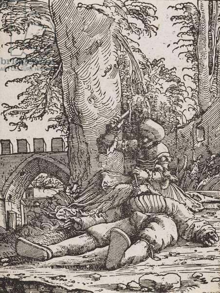 Jael killing Sisera, c.1523 (woodcut)