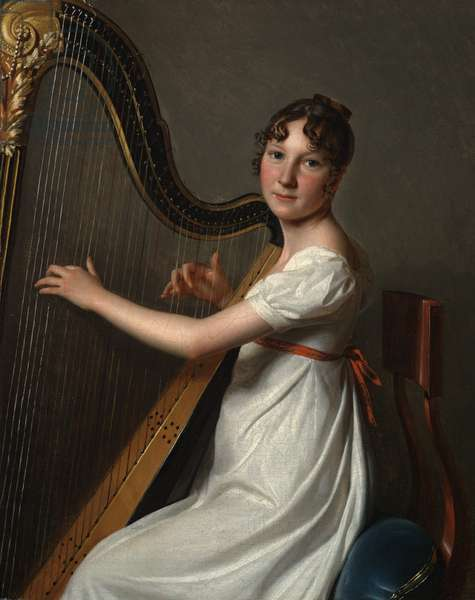 The Young Harpist, c.1804–1806 (oil on canvas)