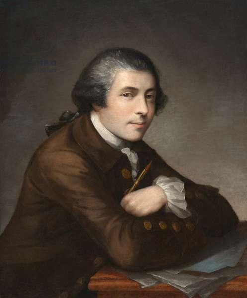 Self Portrait, 1764 (oil on canvas)