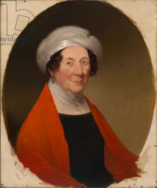 Dolley Todd Madison  (1768-1849), 1848 (oil on canvas)