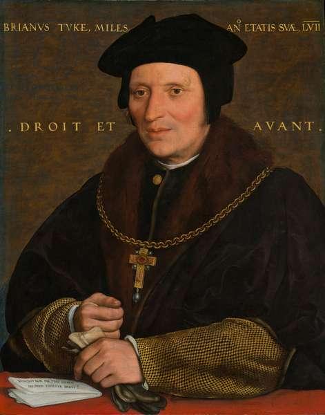 Sir Brian Tuke, c.1527-8 or c.1532-34 ( oil on panel)