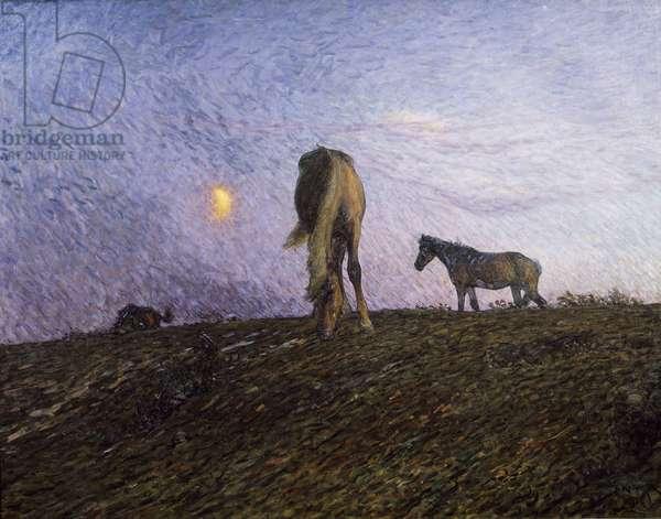 Nightfall, 1904 (oil on canvas)
