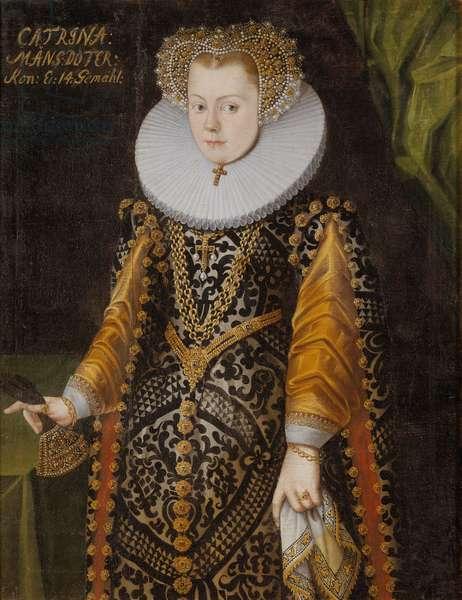 Karin Mansdotter, c.1570-9 (oil on canvas)