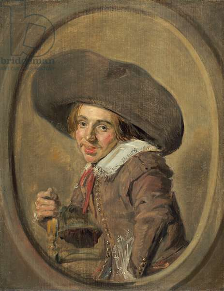 A Young Man in a Large Hat, 1626-29 (oil on panel)