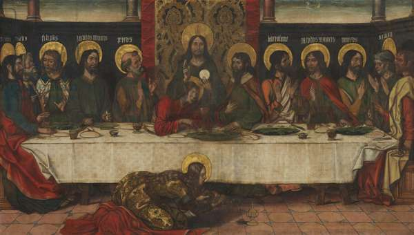 The Last Supper, c.1495-1500 (distemper on linen)