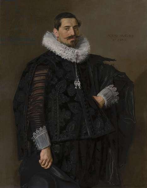 Portrait of Jacob Olycan, 1625 (oil on canvas)