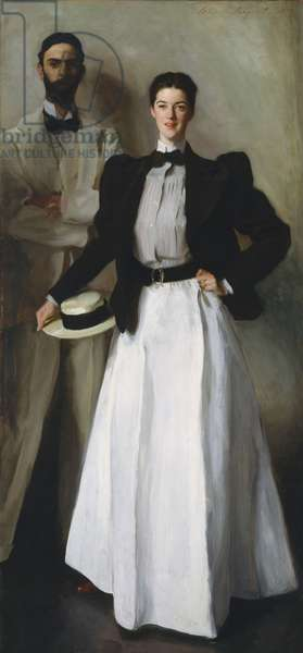 Mr. and Mrs. I. N. Phelps Stokes, 1897 (oil on canvas)