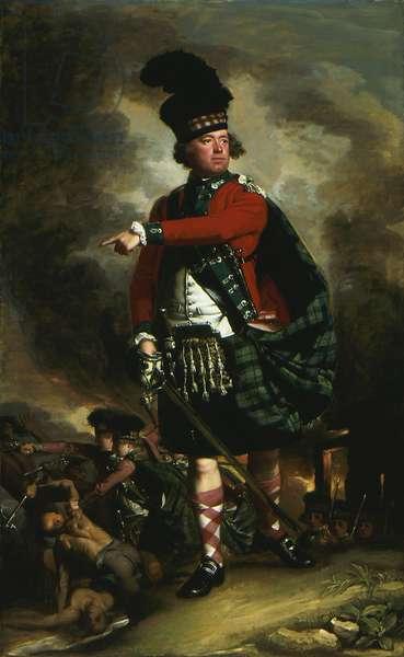 Portrait of Hugh Montgomerie, later 12th Earl of Eglinton, 1780 (oil on canvas)