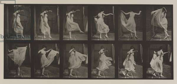 Plate Number 188. Dancing (fancy), 1887 (collotype)