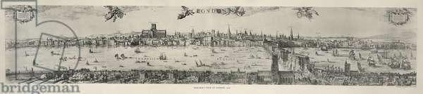 Panorama of London, 1616 (engraving)