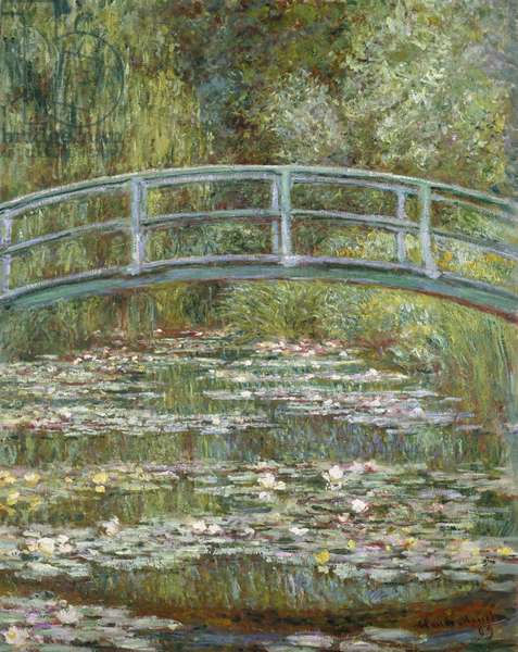 The Water-Lily Pond, 1899 (oil on canvas)