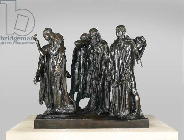 The Burghers of Calais, 1884-95 (bronze)