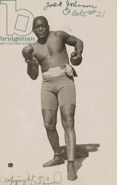 Jack Johnson, c.1910 (postcard)