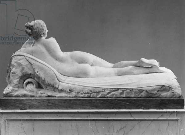 Reclining Naiad, 1819-24 (marble)