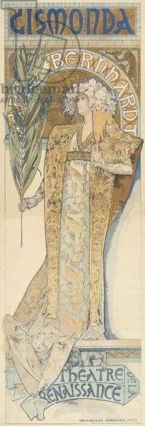 Gismonda, 1894-95 (colour litho)