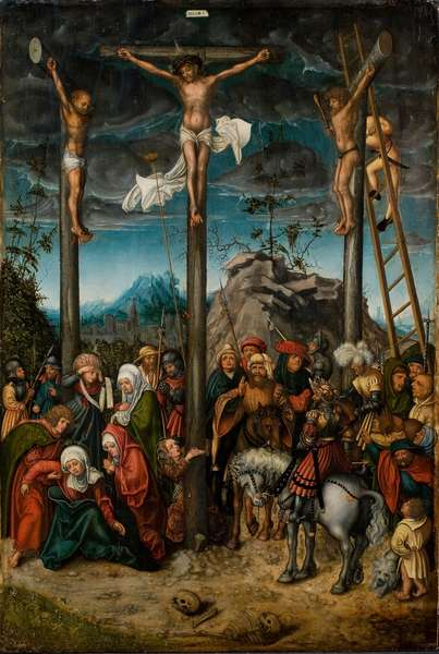 The Crucifixion, c. 1506-20 (oil on panel)