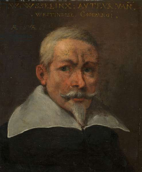 Portrait of Willem Usselinx, 1637 (oil on panel)