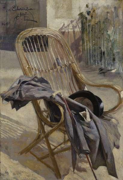 Study for Modern Art, 1888 (oil on canvas)
