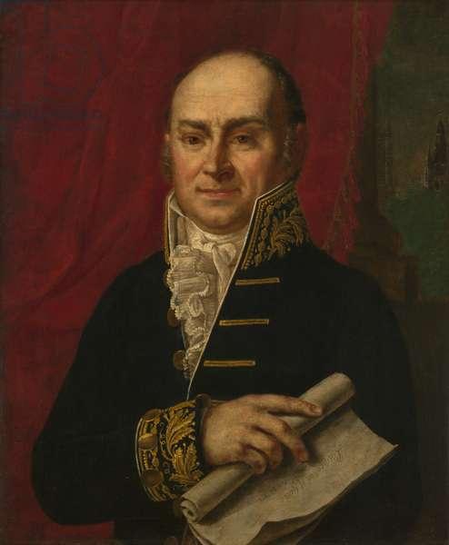 John Quincy Adams (1767-1848), 1815 (oil on canvas)