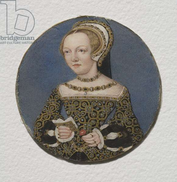 Lady Mary Howard, c.1533 (w/c on  parchment)