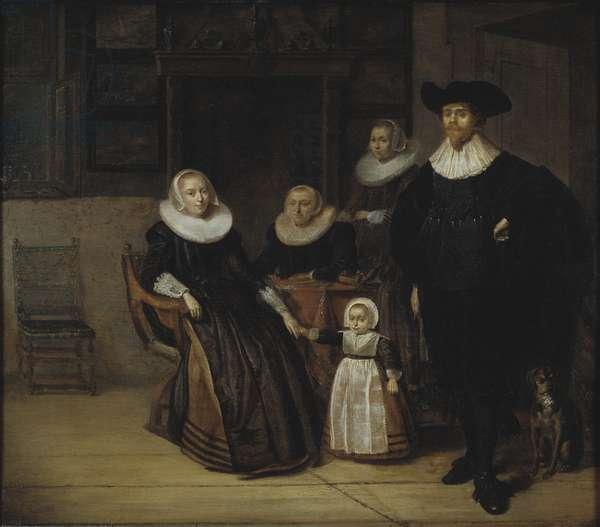Portrait of a Family, 1661 (oil on oak panel)