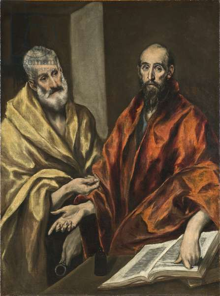 St Peter and St Paul, c.1605-8 (oil on canvas)
