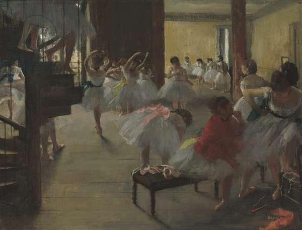 The Dance Class, c.1873 (oil on canvas)