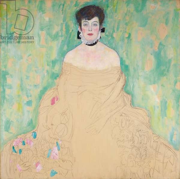 Amalie Zuckerkandl, 1917-18 (oil on canvas)