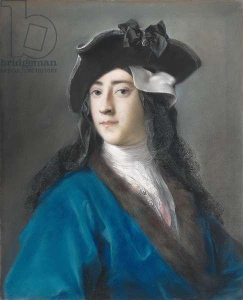 Gustavus Hamilton, Second Viscount Boyne, in Masquerade Costume, 1730-31 (pastel on paper, laid down on canvas)