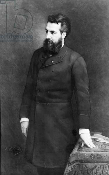 Alexander Graham Bell, 1882 (oil on canvas)