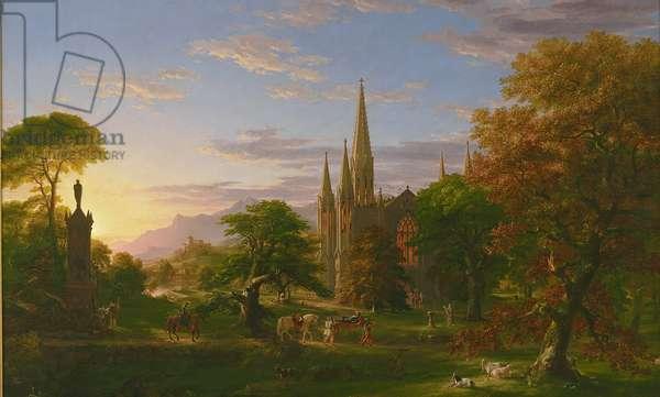 The Return, 1837 (oil on canvas)