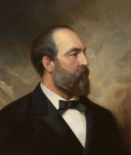 James Abram Garfield (1831-1881), 1881 (oil on canvas)