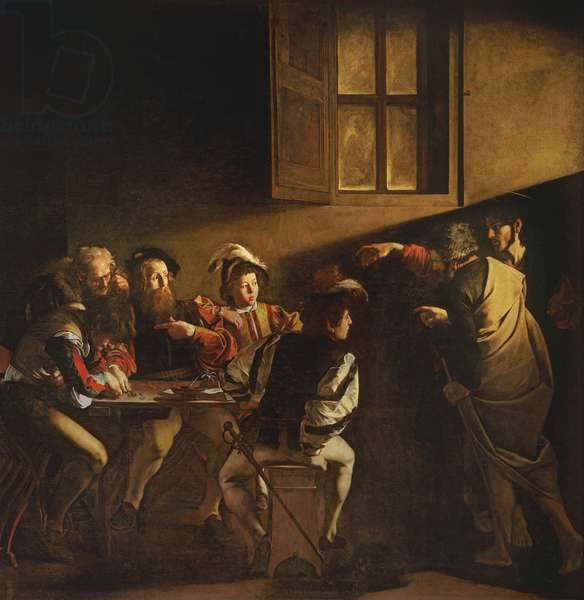 The Calling of St. Matthew, c.1598-1601 (oil on panel)