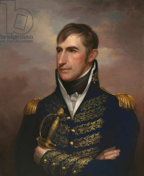 William Henry Harrison (1773-1841), c.1813 (oil on canvas)