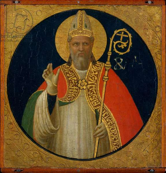 A Bishop Saint, c.1425 (tempera on wood)