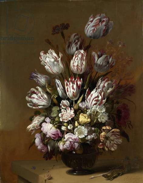 Floral Still Life, 1639 (oil on panel)