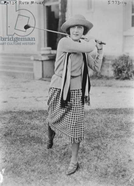 Patsy Ruth Miller (b/w photo)