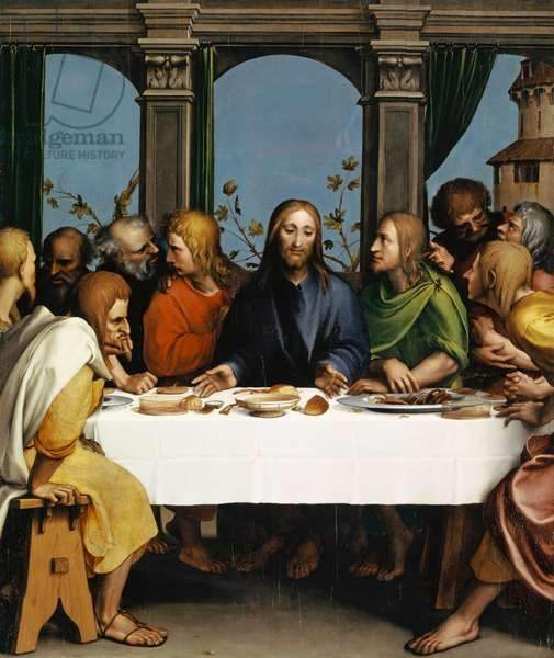 The Last Supper, c.1527 (oil on wood)