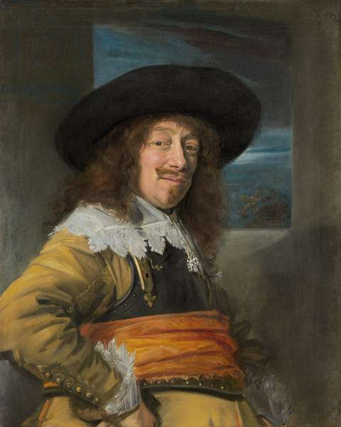 Portrait of a Member of the Haarlem Civic Guard, c.1636-8 (oil on canvas)