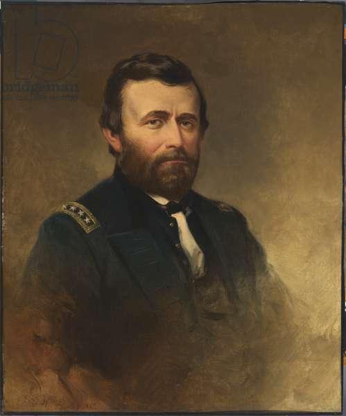 Ulysses Simpson Grant (1822-1885), 1869 (oil on canvas)