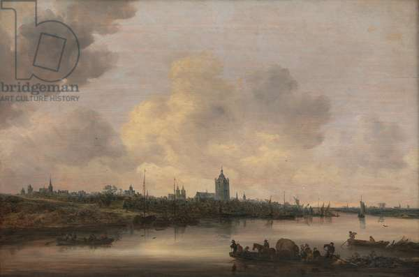 View of the City of Arnhem, 1646 (oil on panel)