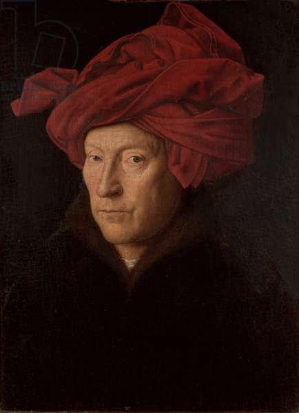 Portrait of a Man, 1433 (oil on oak)