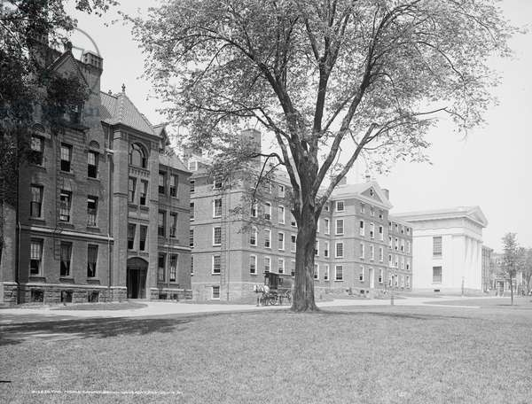 The Middle campus, Brown University, Providence, R.I.
