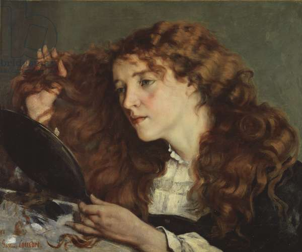 Jo, the Beautiful Irish Girl, 1866 (oil on canvas)
