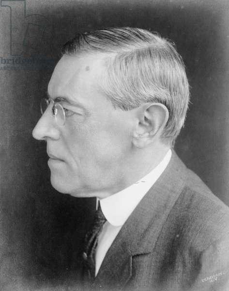 Woodrow Wilson, 1912 (b/w photo)