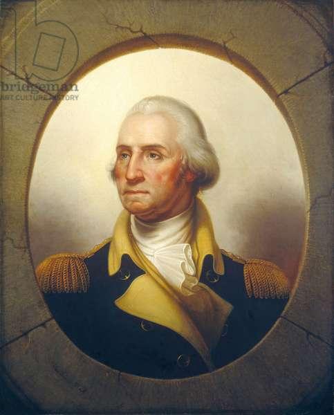 George Washington, c.1850 (oil on canvas)