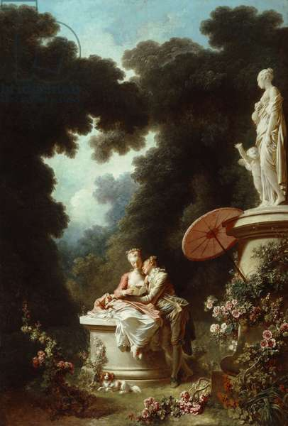 The Progress of Love: Love Letters, 1771-72 (oil on canvas)